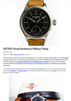 Pellikaan Timing Review Monochrome Watches