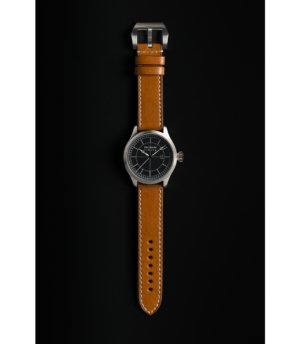 Pellikaan Timing Bruin Leren Horloge Bandje