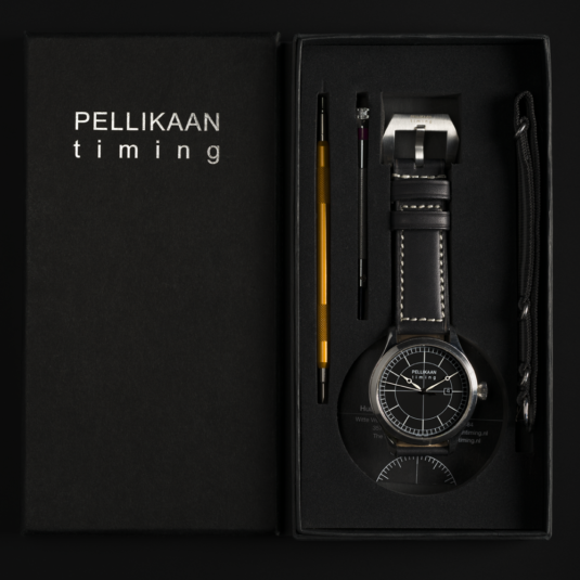 Pellikaan Timing Horloge in Doosje