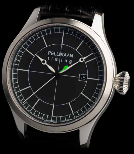 Flying Dutchman Perpetuum Zwart HDI Pellikaan Timing Product