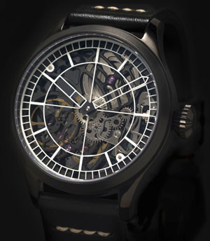 Pellikaan Timing Skeleton Horloge