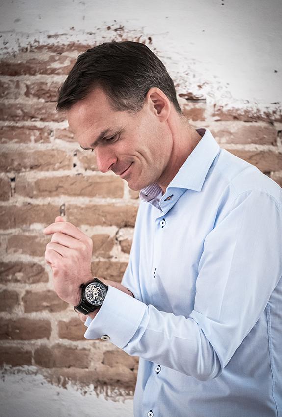 Flying Dutchman Skeleton Horloge