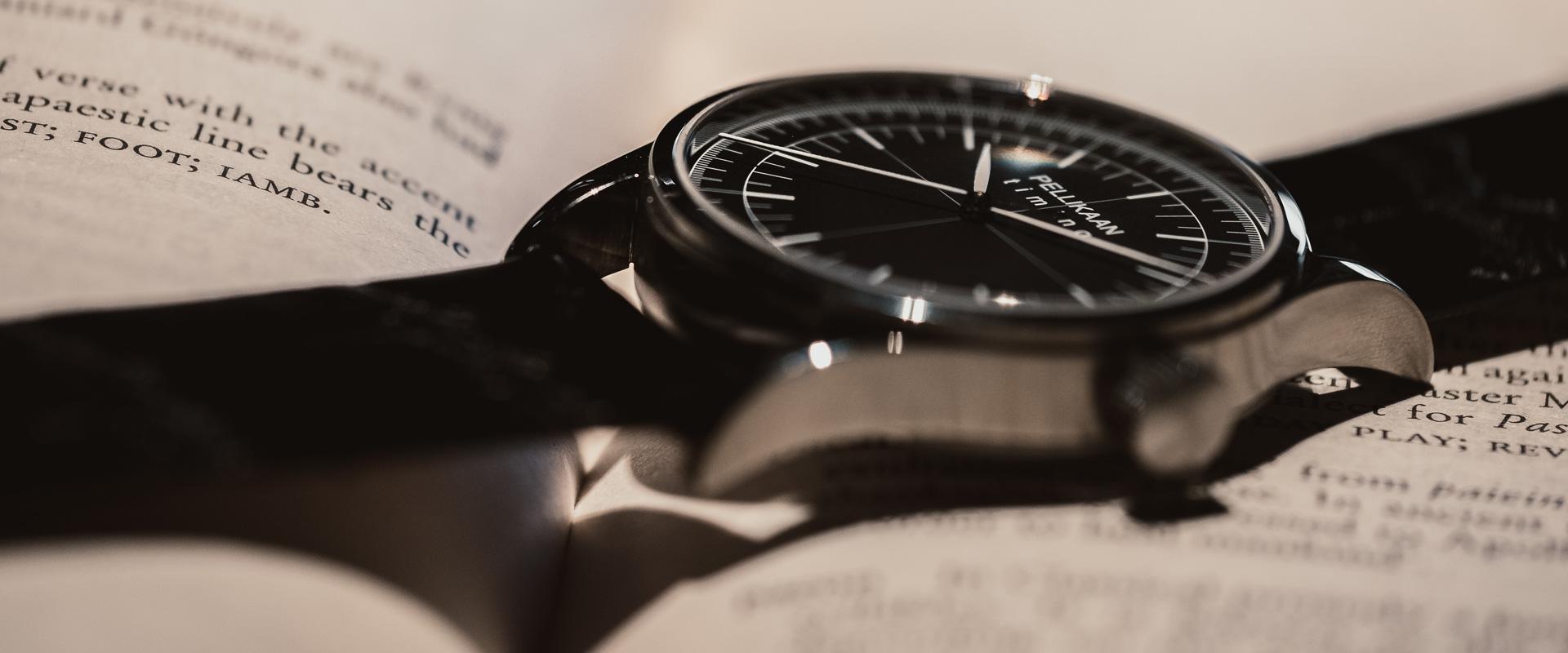 Over Pellikaan Timing Horloges